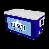 Busch Light 48 Quart Cooler With Full Brand Graphics