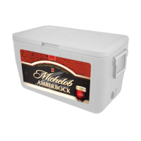 Amberbock 48 Quart Cooler With Full Brand Graphics