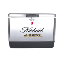 Amberbock 54 Quart Steel Cooler