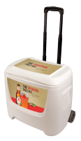Bass 28 Quart White Cooler