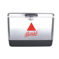 Bass 54 Quart  Stainless Steel Cooler With Logo