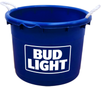 Bud Light 19 Gallon Keg Tub with Brand Logo