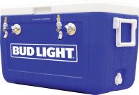 Bud Light 2 Faucet Coil Draught Box with Brand Logo