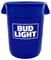 Bud Light 32 Gallon Keg Tub with Brand Logo