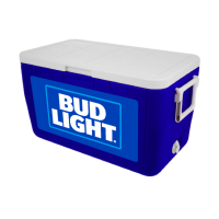 Bud Light 48 Quart Cooler With Full Brand Graphics