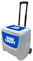 Bud Light Blue 28 Quart White Cooler
