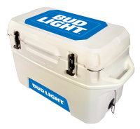 Bud Light Blue 70 Quart Yukon Cooler