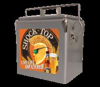 Shock Top 13 Quart Retro Cooler