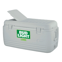 Bud Light Lime 100 Quart  White Igloo Cooler With Brand Logo