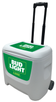 Bud Light Lime 28 Quart White Cooler