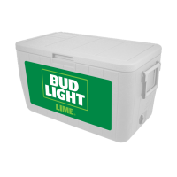 Bud Light Lime 48 Quart Cooler With Full Brand Graphics