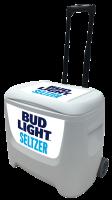Bud Light Seltzer 28 Quart White Cooler