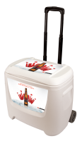 Bud Select 28 Quart White Cooler