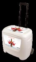 Bud Select 28 Quart White Cooler