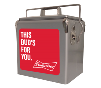 Budweiser 13 Quart Retro Cooler