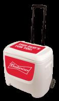 Budweiser 28 Quart White Cooler