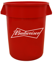 Budweiser 32 Gallon Keg Tub with Brand Logo