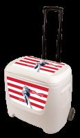 Budweiser Liberty 28 Quart White Cooler