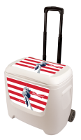 Budweiser Liberty 28 Quart White Cooler