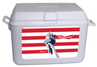 Budweiser Liberty 48 Quart Rubbermaid Cooler