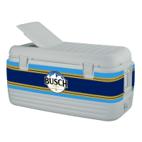 Busch 100 Quart Igloo Cooler With Wrap Graphics