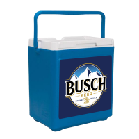 Busch 20 Can Stacker in Blue with Full Panel Logo