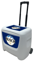 Busch 28 Quart White Cooler