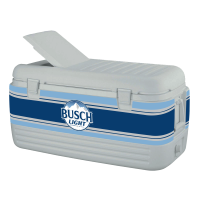 Busch Light 100 Quart Cooler With Wrap Graphics