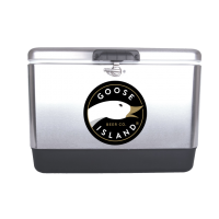 Goose Island 54 Quart  Stainless Steel Cooler With Brand logo