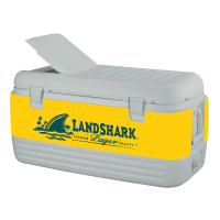 Landshark 100 Quart Igloo Cooler With Wrap Graphics