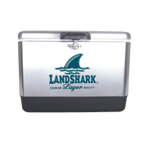 Landshark 54 Quart  Stainless Steel Cooler With Brand logo