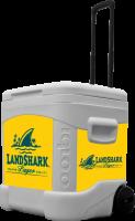 Landshark 60 Quart Rolling Cooler With Full Brand Graphics