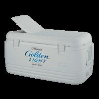 Michelob Golden Light 100 Quart  White Igloo Cooler w/Brand Logo