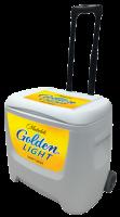 Michelob Golden Light 28 Quart White Cooler
