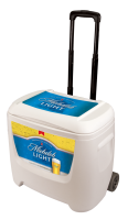 Michelob Light 28 Quart White Cooler