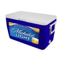 Michelob Light 48 Quart Cooler With Full Brand Graphics