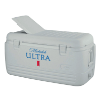 Michelob Ultra 100 Quart  White Igloo Cooler With Brand Logo