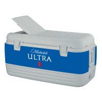 Michelob Ultra 100 Quart Igloo Cooler With Wrap Graphics