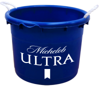 Michelob Ultra 19 Gallon Keg Tub with Brand Logo