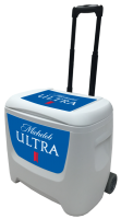 Michelob Ultra 28 Quart White Cooler
