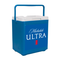 Michelob Ultra 20 Can Stacker in Blue with Full Panel Logo