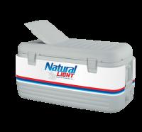 Natural Light100 Quart Igloo Cooler With Wrap Graphics