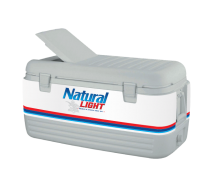 Natural Light100 Quart Igloo Cooler With Wrap Graphics