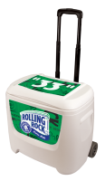 Rolling Rock 28 Quart White Cooler