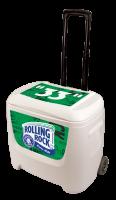 Rolling Rock 28 Quart White Cooler