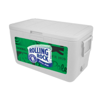 Rolling Rock 48 Quart Cooler With Full Brand Graphics