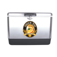 Shock Top 54 Quart  Stainless Steel Cooler With Brand logo