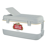 Stella Artois 100 Quart Igloo Cooler With Wrap Graphics