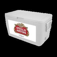 Stella Artois 48 Quart Cooler With Full Brand Graphics