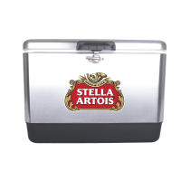 Stella Artois 54 Quart  Stainless Steel Cooler With Brand logo
